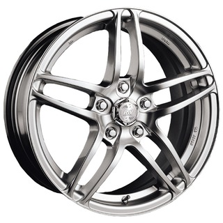 Racing Wheels H-109 6.5x14/4x100 D67.1 ET38 Silver