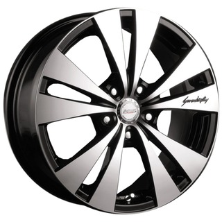 Racing Wheels H-364 6.5x15/5x105 D56.6 ET40 BK F/P