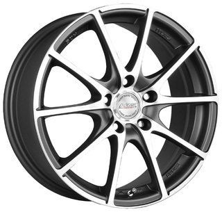 17x5x105 Racing Wheels H-490 ET40